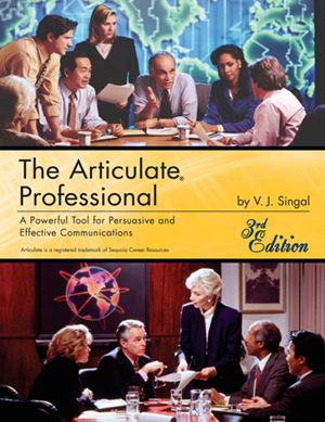 The cover of The Articulate Professional